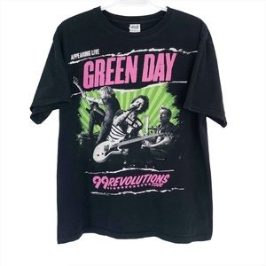 Green Day 99 Revolutions Tour T-Shirt Band Tee
